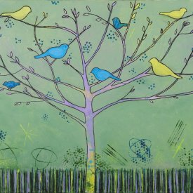 Family of Birds – Sold – Image #40844